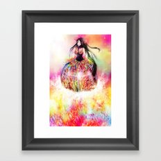 TO LEAVE OR TO STAY? Framed Art Print