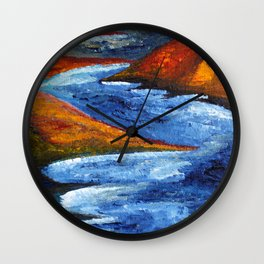 Skog and Fjell #1 Wall Clock
