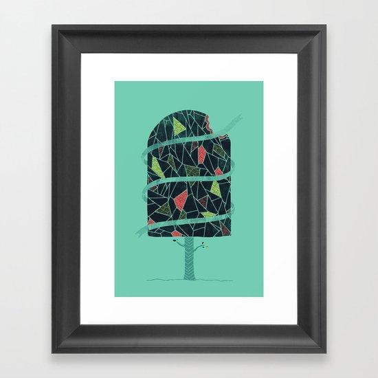 The Winter Tree Framed Art Print