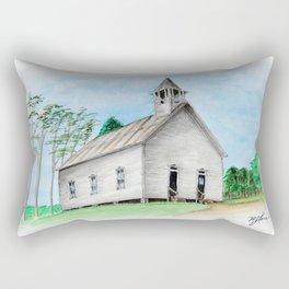 Old Methodist Church in Cades Cove Rectangular Pillow
