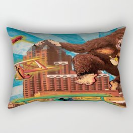 Milwaukee vs. the Super Ape Rectangular Pillow
