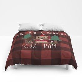 Holiday Beaver Comforters