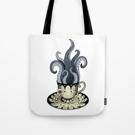 Kraken tea Tote Bag