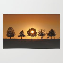 Beautiful Nature Panorama Rug