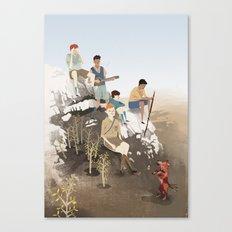 Boys Canvas Print