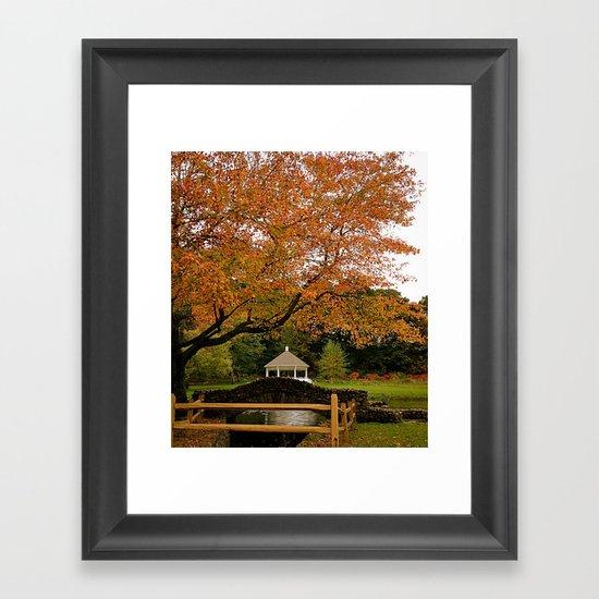 The Last Day of September Framed Art Print