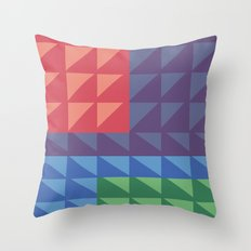 Flatris Throw Pillow