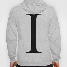 I letter Hoody
