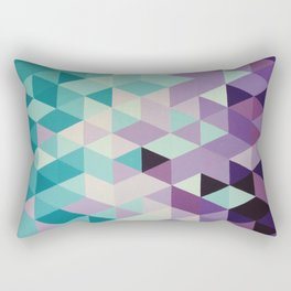 Triangles are my favourite shape Rectangular Pillow