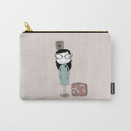 Keep Calm and Travel On Carry-All Pouch
