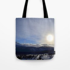 Rolling Clouds Over the Rockies Tote Bag