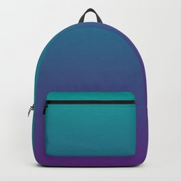 Ombre | Color Gradients | Gradient | Two Tone | Teal | Purple | Backpack