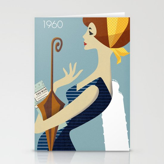 Italy 1960 Stationery Cards