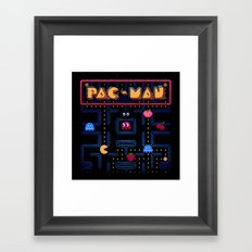 Man-Pac Framed Art Print