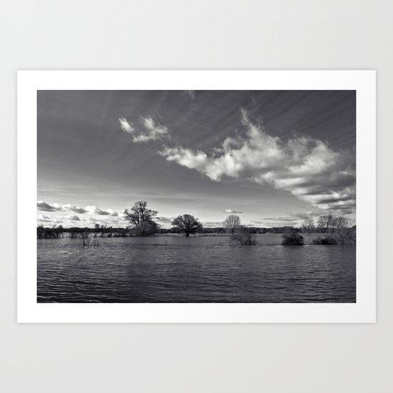 water world... Art Print