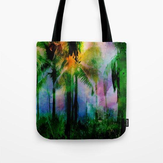 Tropical Sunset 2 Tote Bag