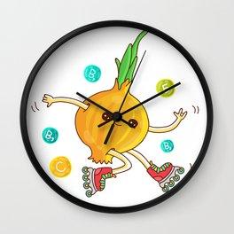 Skipping Onion Wall Clock
