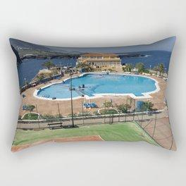 Vacation Postcard Rectangular Pillow