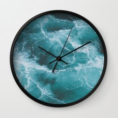 Electric Ocean Wall Clock
