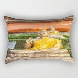 Buddha at Wok Lok Molee Rectangular Pillow
