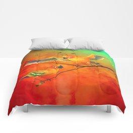 Parrots Sun Conures Comforters