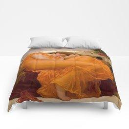 FLAMING JUNE - FREDERIC LEIGHTON Comforters