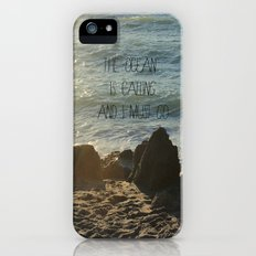 The Ocean is Calling iPhone (5, 5s) Slim Case
