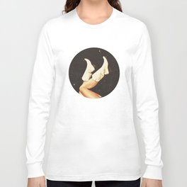 These Boots - Space Long Sleeve T-shirt