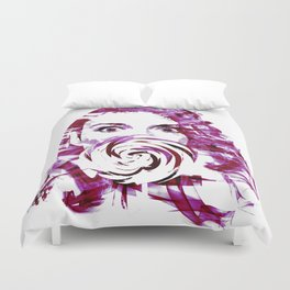 Pink candy Duvet Cover