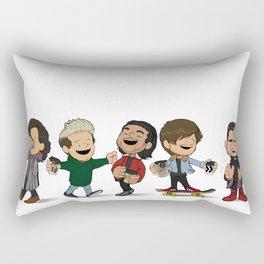 Schulz 1D Coffee Run Rectangular Pillow