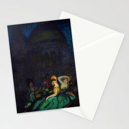 Gondole à Venise - Gondola in Venice by Federico Beltran Stationery Cards