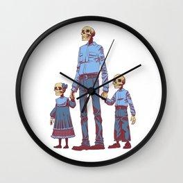 The Future is Bleak Wall Clock