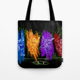 TMNT Rock Tote Bag