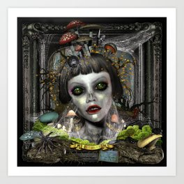 "Renata ""Beauty Born Again"" Art Print"
