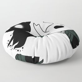 Hollow Knight The Void that Fills the Knight Floor Pillow