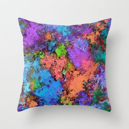 Close to the water Throw Pillow