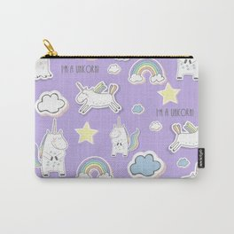 I'm a Unicorn - purple Carry-All Pouch