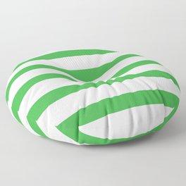 Green Stripes nursery room Decor  Floor Pillow