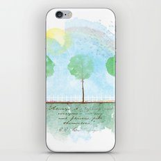Always it's spring iPhone & iPod Skin