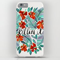 Killin' It – Tropical Red & Green iPhone 6s Plus Slim Case