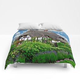 Quaint English Cottage Comforters