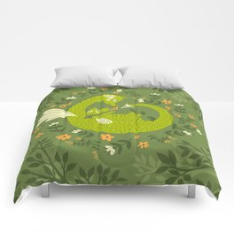 Mama and Baby Dragon Comforters