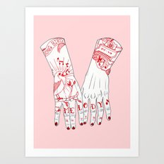 Melody and Rhythm Art Print