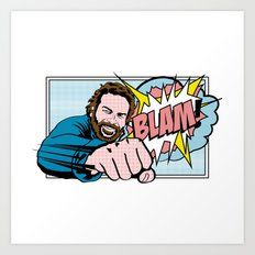 Bud Spencer Pop Art Art Print