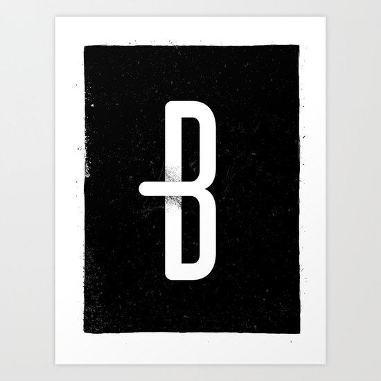 B 001 Art Print