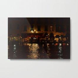 Venezia and Love Metal Print