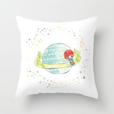 just you and me Throw Pillow