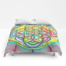 Clues in the Colors - The Rainbow Tribe Collection Comforters