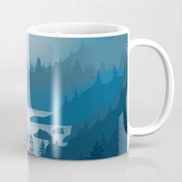 Night River - Minimal Art Coffee Mug