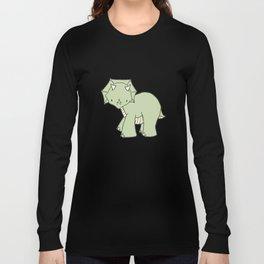 Dinosaur Grey Long Sleeve T-shirt
